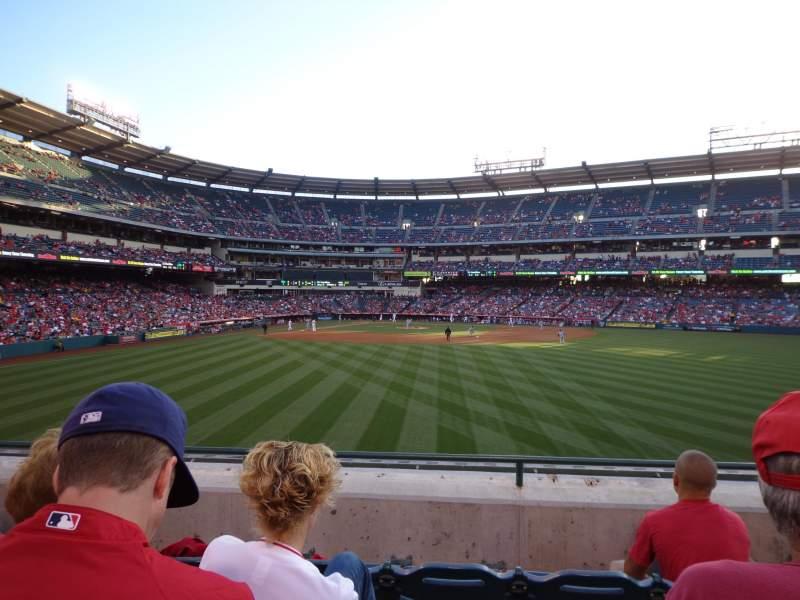 Angel Stadium, section: P238, row: D