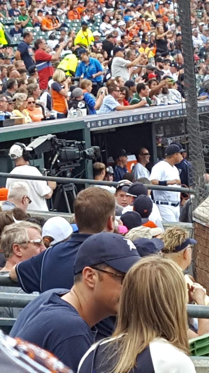 Seating view for Comerica Park Section 127 Row 10 Seat 3,4