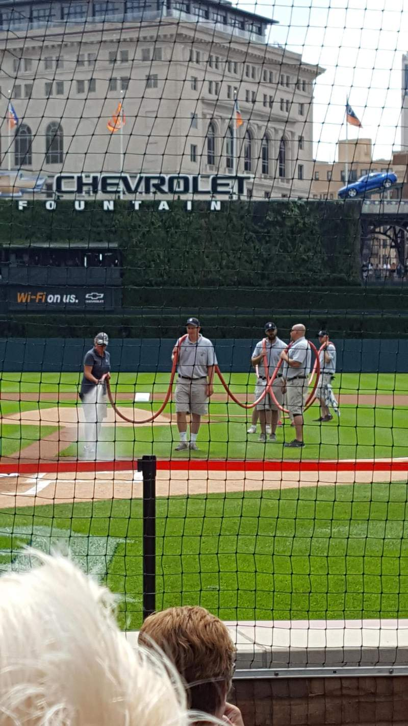 Seating view for Comerica Park Section 127 Row 6 Seat 3