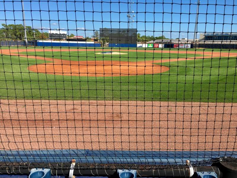 Seating view for Charlotte Sports Park Section 108 Row 2 Seat 6
