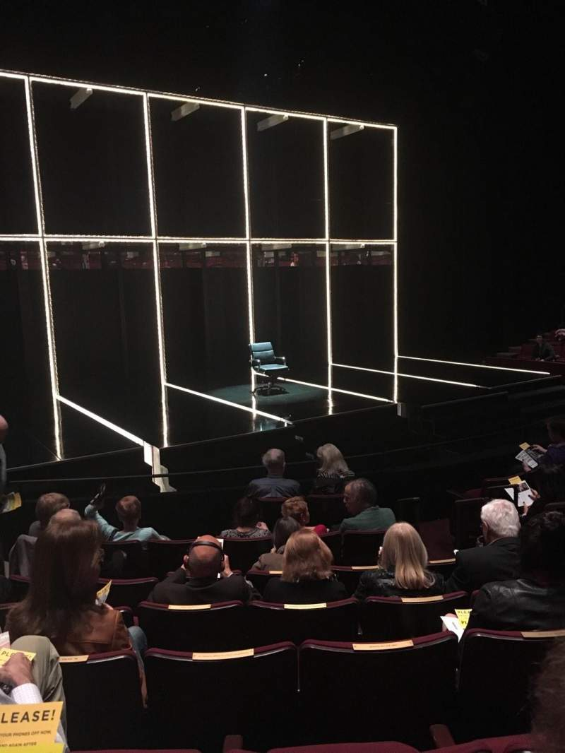 Seating view for Vivian Beaumont Theater Section Orchestra LC Row J Seat 205