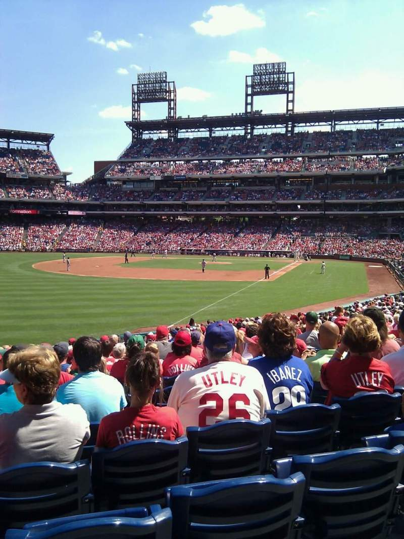 Seating view for Citizens Bank Park Section 139 Row 29 Seat 12