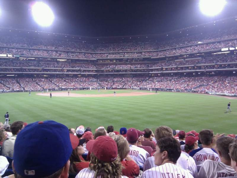 Seating view for Citizens Bank Park Section 147 Row 14 Seat 9