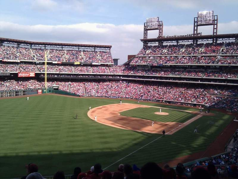 Seating view for Citizens Bank Park Section 236 Row 9 Seat 7