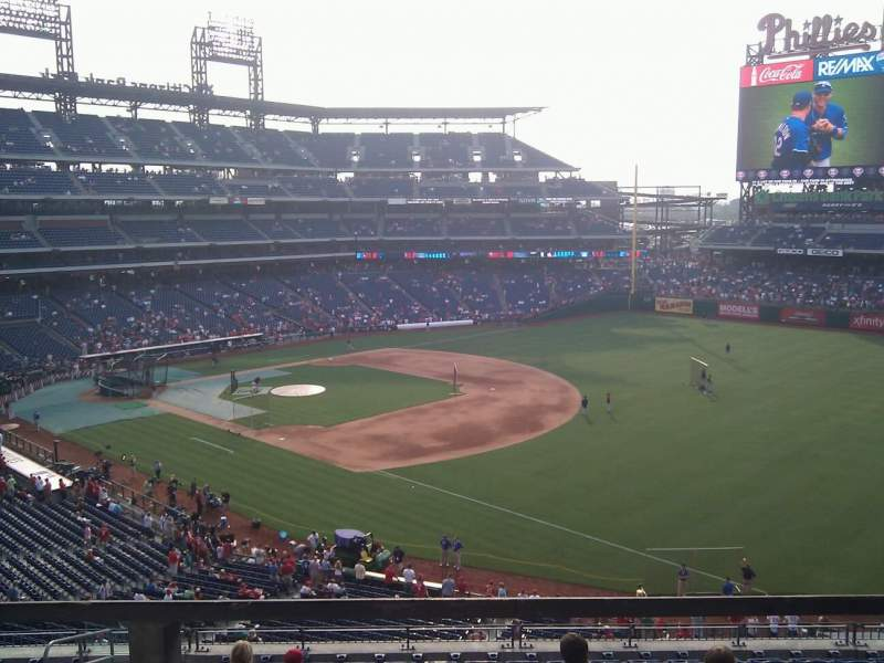 Seating view for Citizens Bank Park Section 209