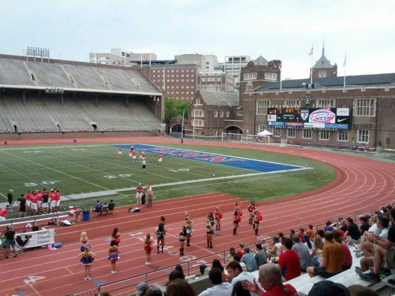 Seating view for Franklin Field Section GA