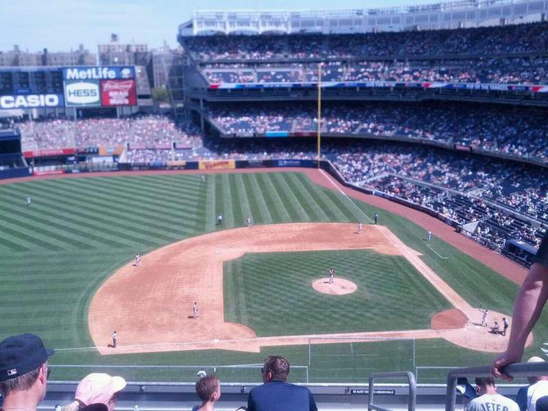 Seating view for Yankee Stadium Section 325 Row 7 Seat 1