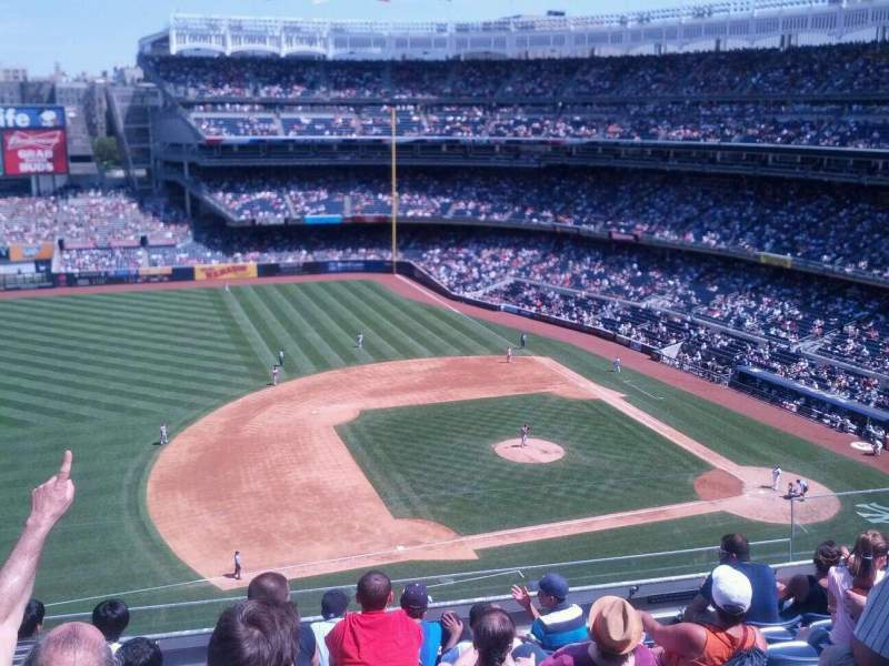 Seating view for Yankee Stadium Section 326 Row 7 Seat 9