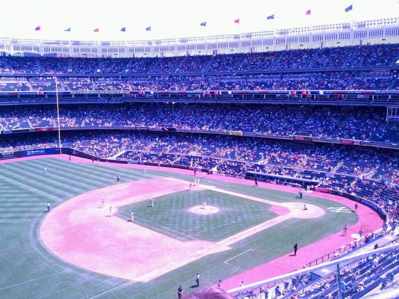 Seating view for Yankee Stadium Section 328 Row 2 Seat 9