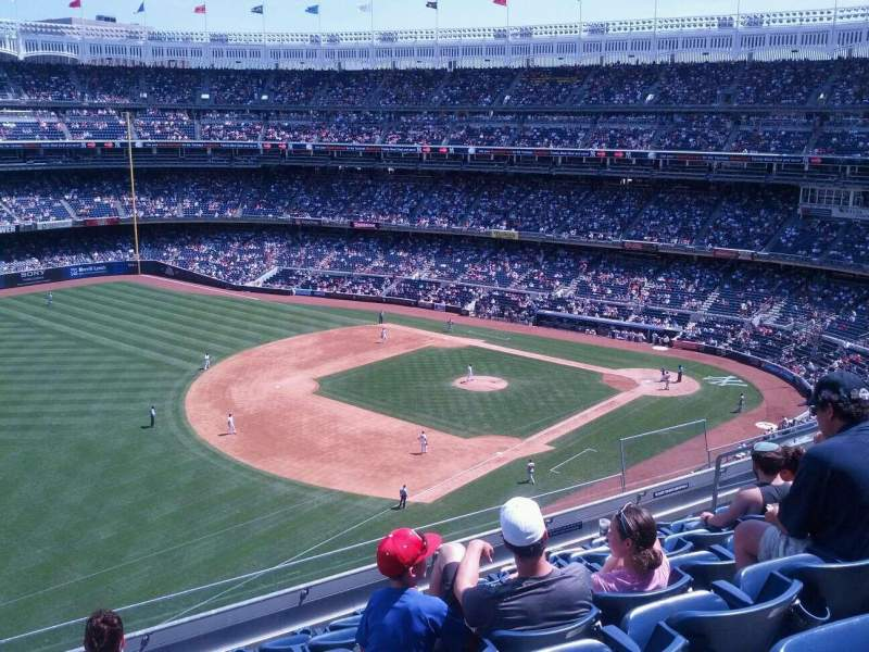 Seating view for Yankee Stadium Section 329 Row 7 Seat 11