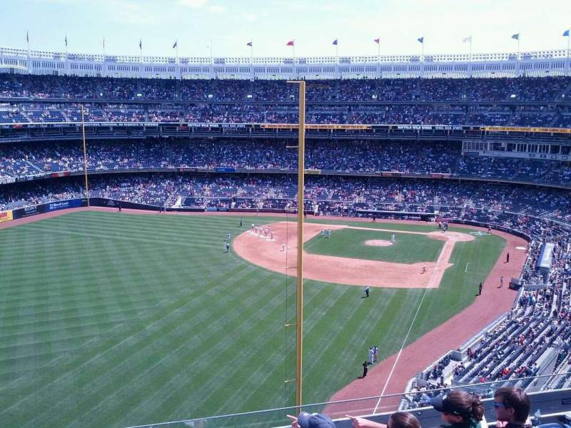 Seating view for Yankee Stadium Section 333 Row 7 Seat 16