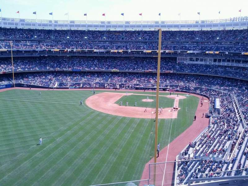 Seating view for Yankee Stadium Section 334 Row 6 Seat 4