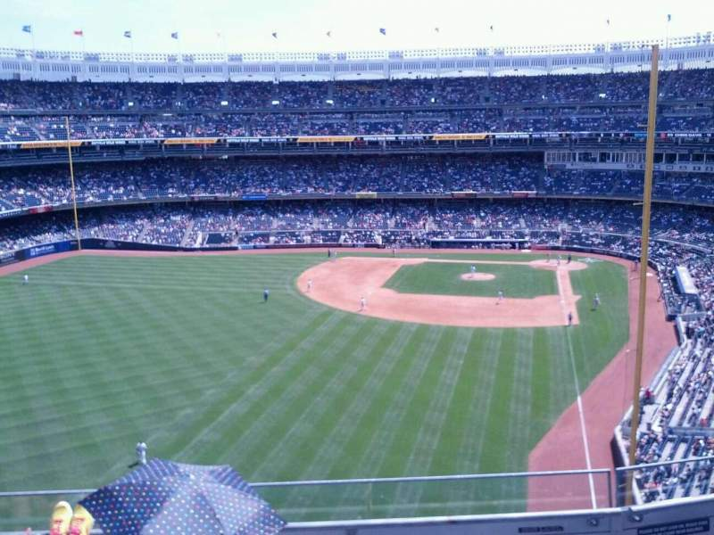 Seating view for Yankee Stadium Section 333 Row 4 Seat 18