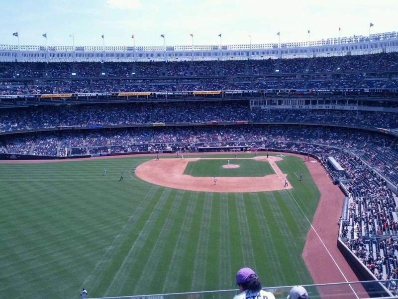 Seating view for Yankee Stadium Section 334 Row 5 Seat 12