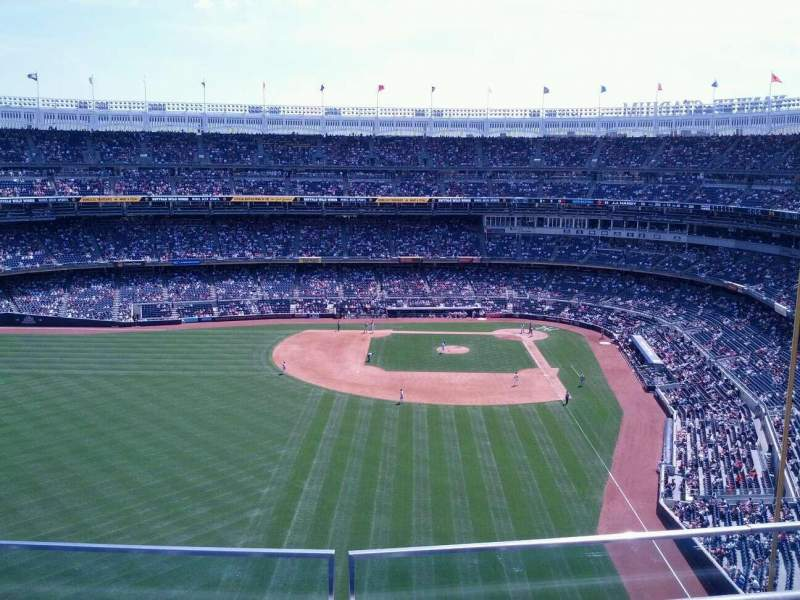 Seating view for Yankee Stadium Section 434b Row 2 Seat 7