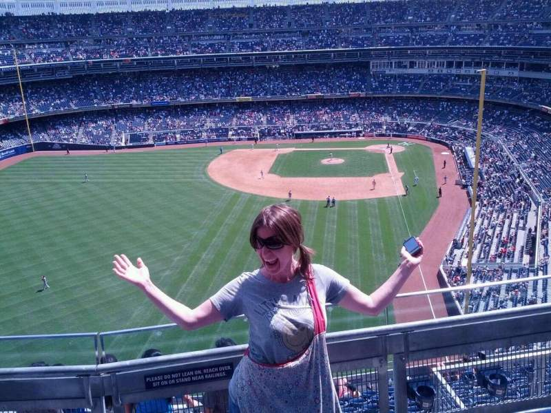 Seating view for Yankee Stadium Section 434a Row 4 Seat 15