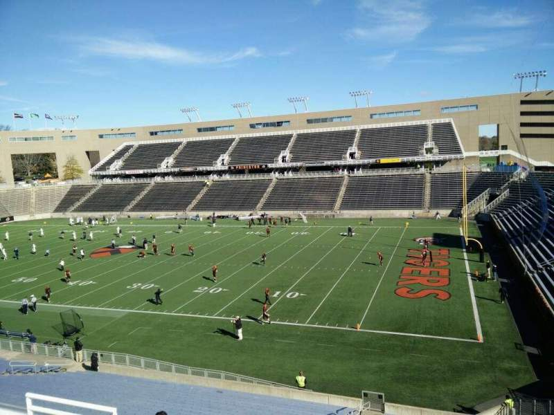 Seating view for Princeton Stadium Section 1 Row 24 Seat 13
