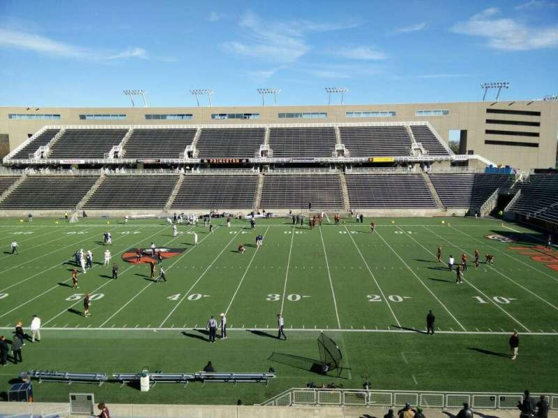 Seating view for Princeton Stadium Section 4 Row 22 Seat 19
