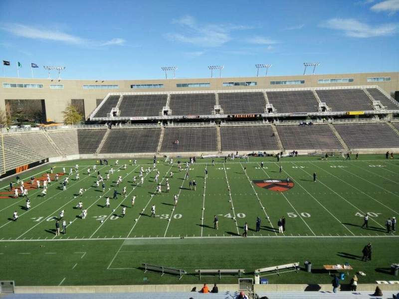 Seating view for Princeton Stadium Section 8 Row 28 Seat 5