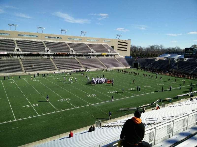 Seating view for Princeton Stadium Section 21 Row 26 Seat 13
