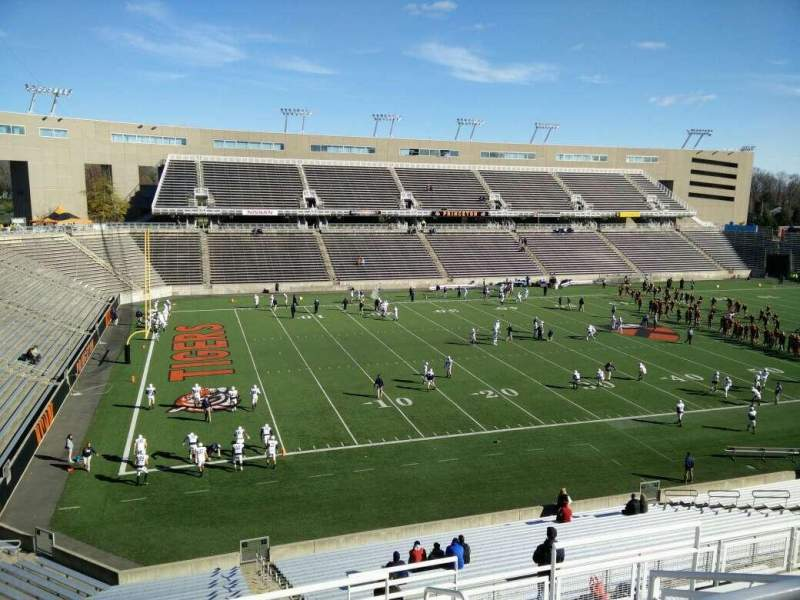 Seating view for Princeton Stadium Section 12 Row 29 Seat 3