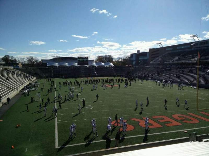 Seating view for Princeton Stadium Section 19 Seat 11