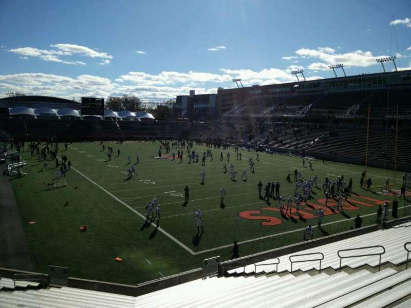 Seating view for Princeton Stadium Section 20 Seat 15
