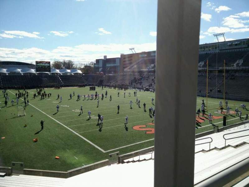 Seating view for Princeton Stadium Section 20 Seat 14