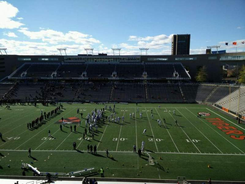 Seating view for Princeton Stadium Section 24 Row 33 Seat 15