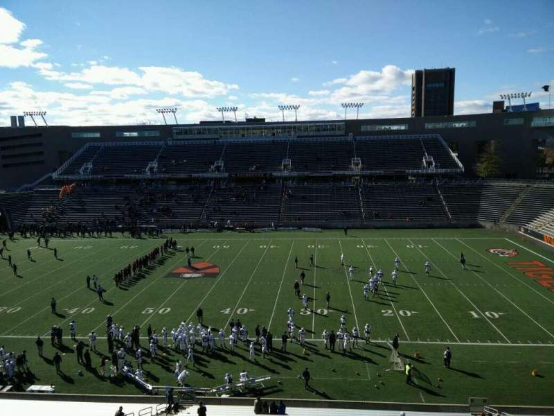 Seating view for Princeton Stadium Section 25 Row 33 Seat 1