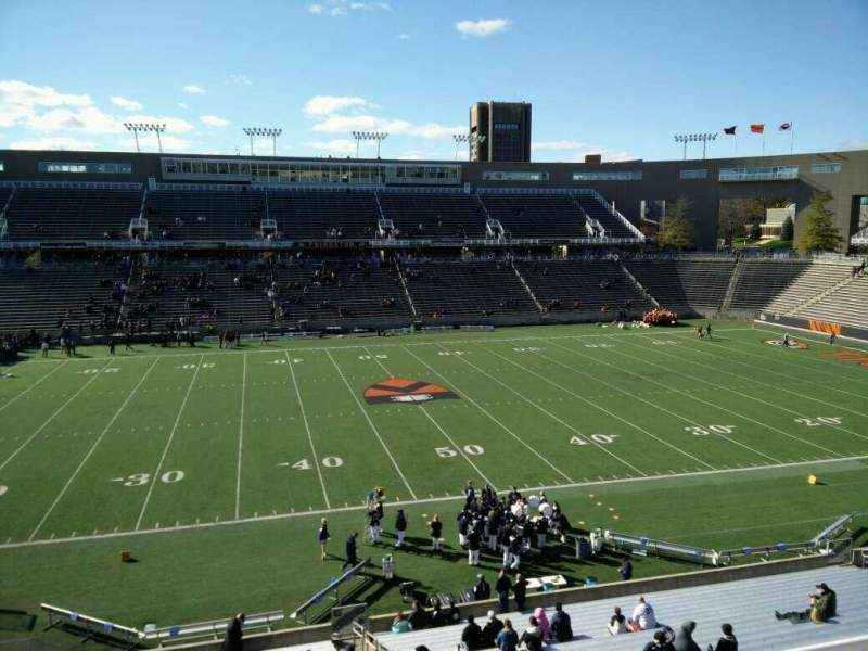 Seating view for Princeton Stadium Section 28 Row 25 Seat 5