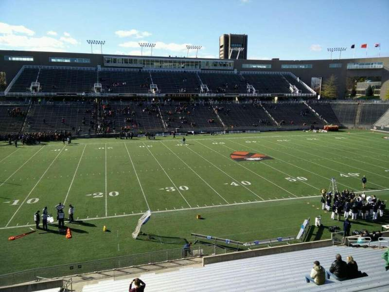 Seating view for Princeton Stadium Section 29 Row 22 Seat 17