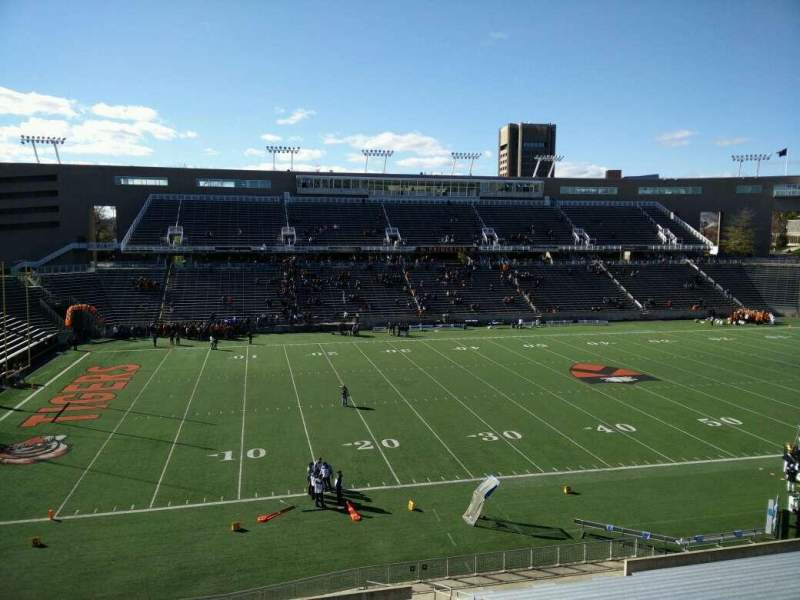 Seating view for Princeton Stadium Section 30 Row 26 Seat 13