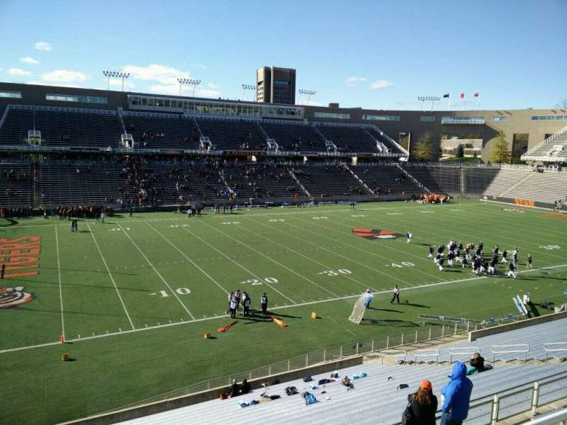 Seating view for Princeton Stadium Section 31 Row 24 Seat 16