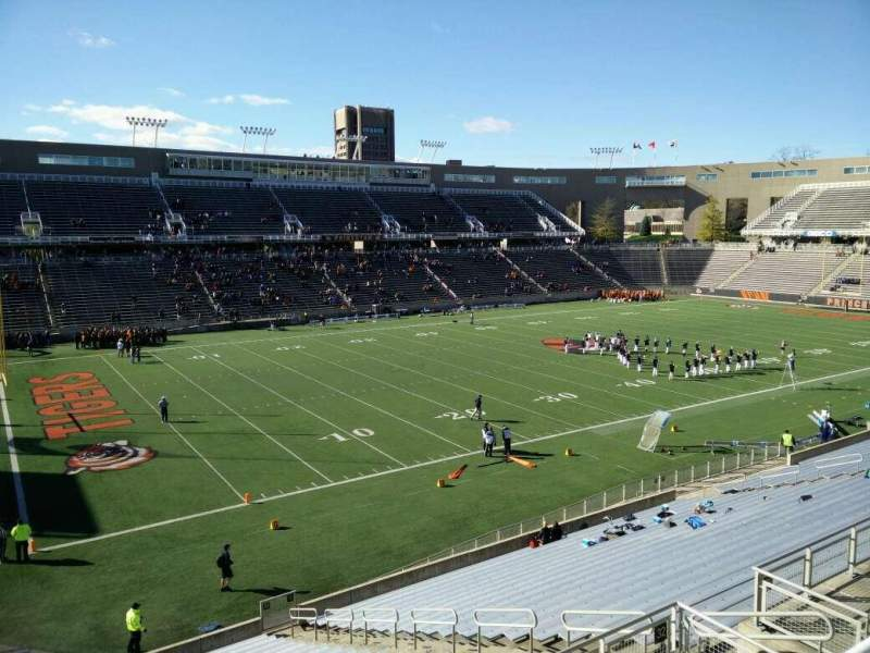 Seating view for Princeton Stadium Section 32 Row 23 Seat 15