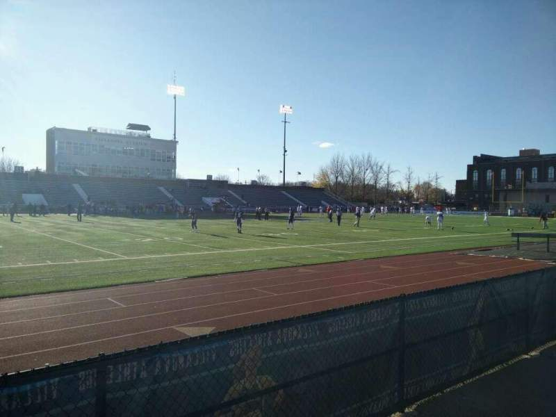 Villanova Stadium, section: NF, row: 1, seat: 18