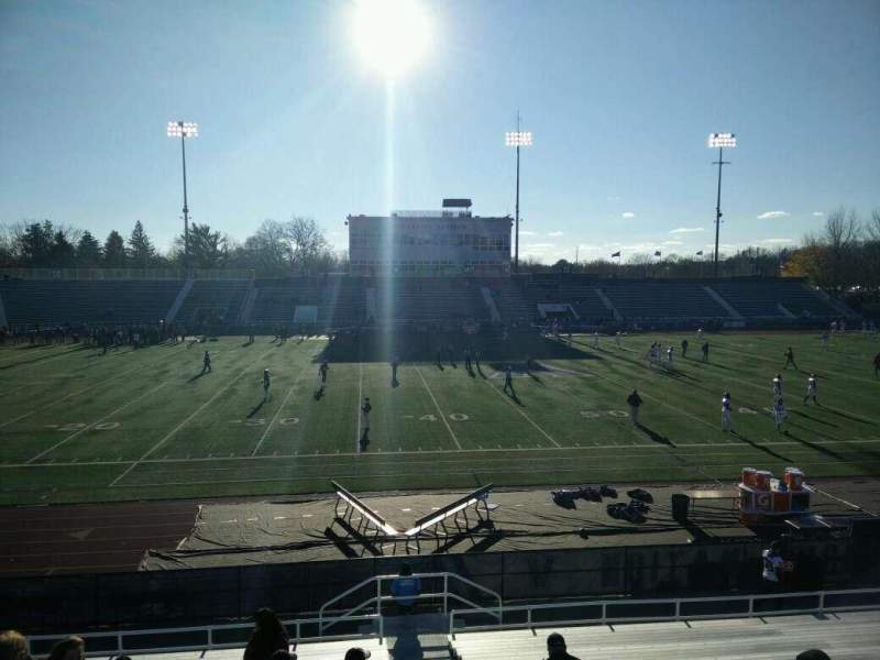 Villanova Stadium, section: NE, row: 22, seat: 1