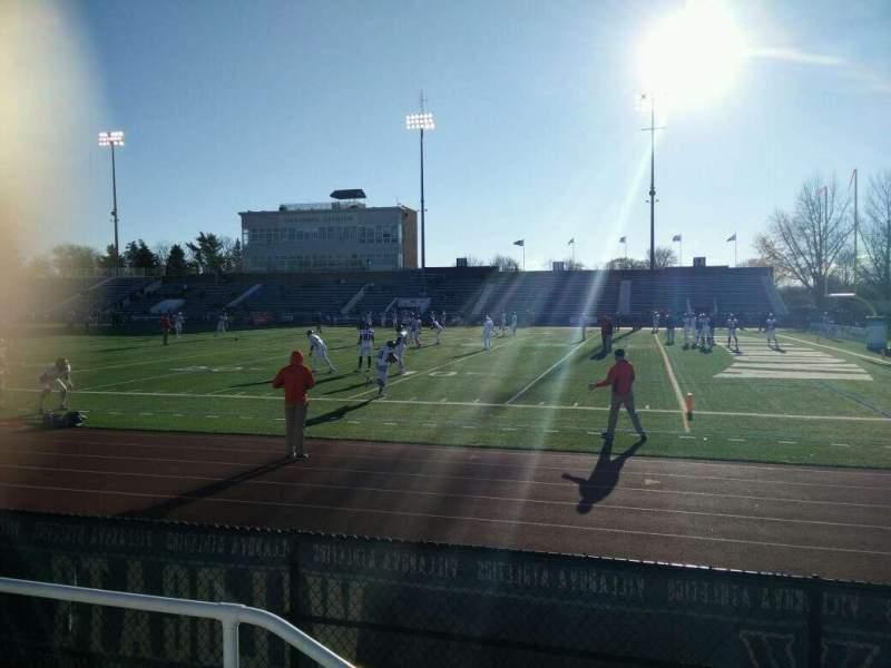 Villanova Stadium, section: NA, row: 3, seat: 34