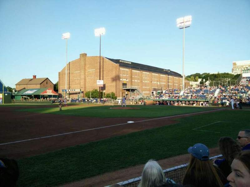 Seating view for Hadlock Field Section 113 Row C Seat 8