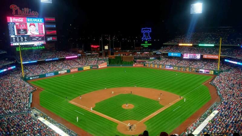 Seating view for Citizens Bank Park Section 421 Row 7 Seat 9