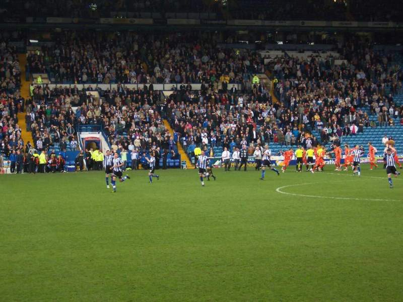 Seating view for Hillsborough Stadium Section north stand