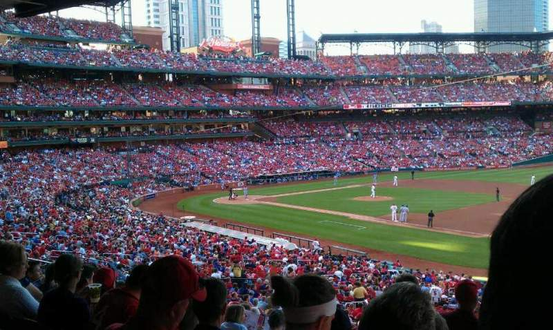 Seating view for Busch Stadium Section 139 Row 29 Seat 23