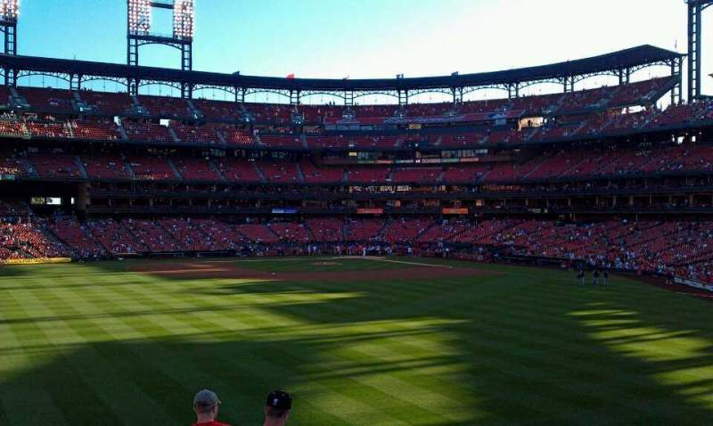 Seating view for Busch Stadium Section 593 Row 17