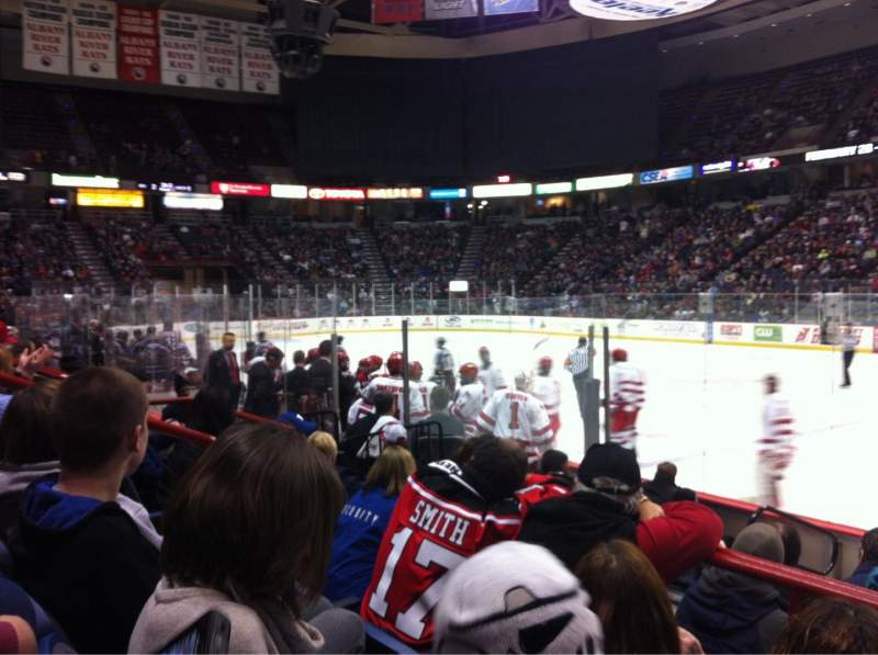 Seating view for Times Union Center Section 103 Row C Seat 10