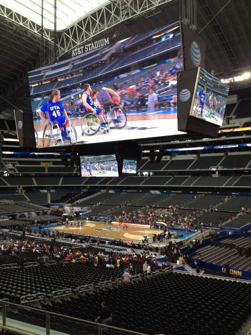 Seating view for AT&T Stadium Section C231 Row 11 Seat 9