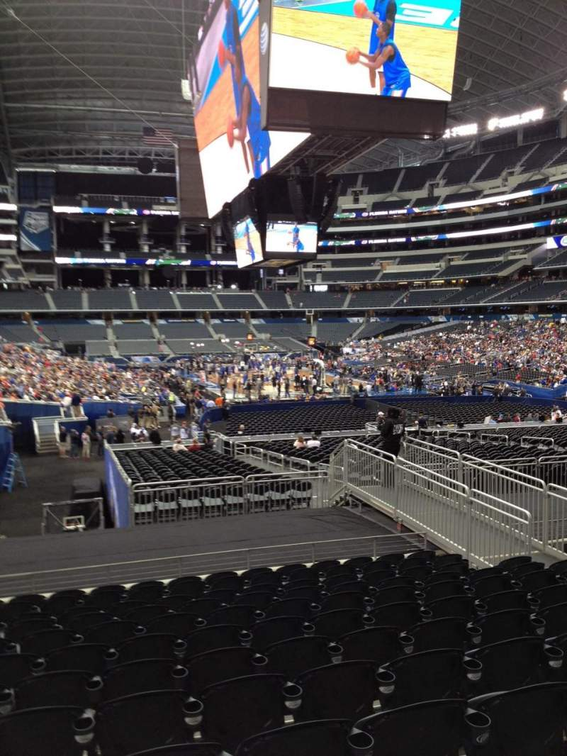 Seating view for AT&T Stadium Section 150 Row 19 Seat 8