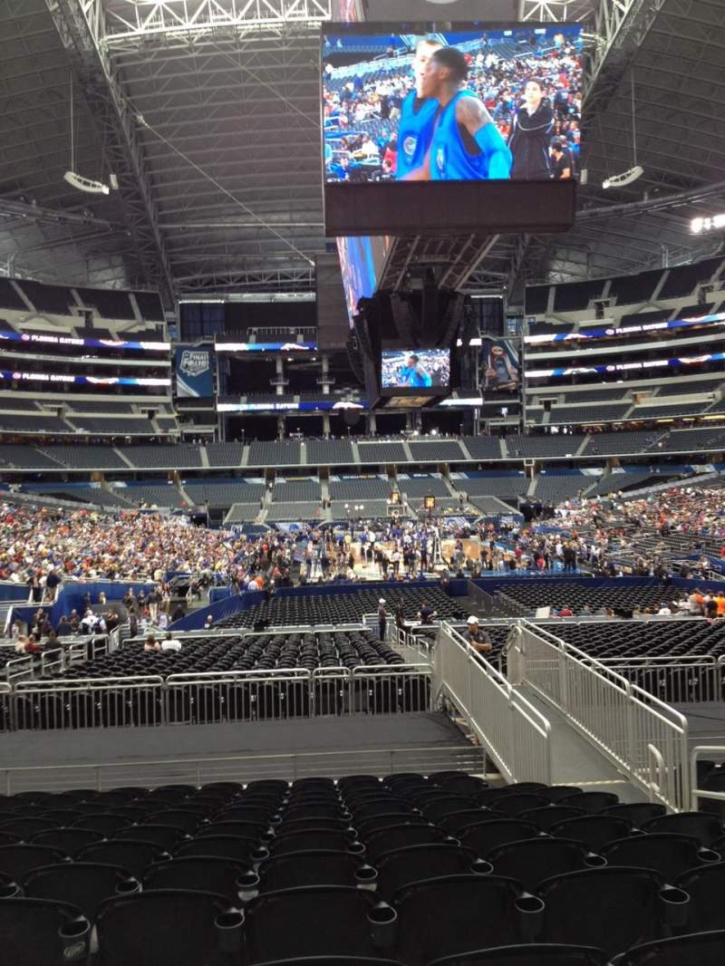 Seating view for AT&T Stadium Section 149 Row 20 Seat 5