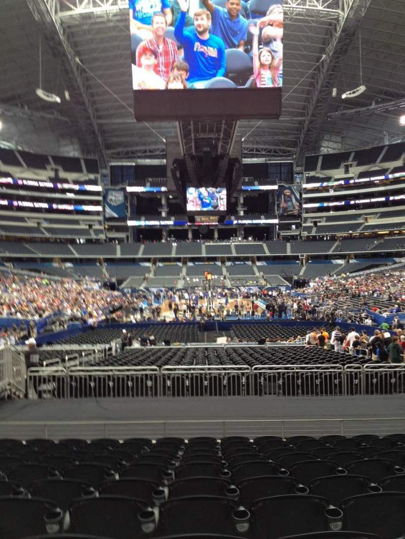 Seating view for AT&T Stadium Section 148 Row 17 Seat 14