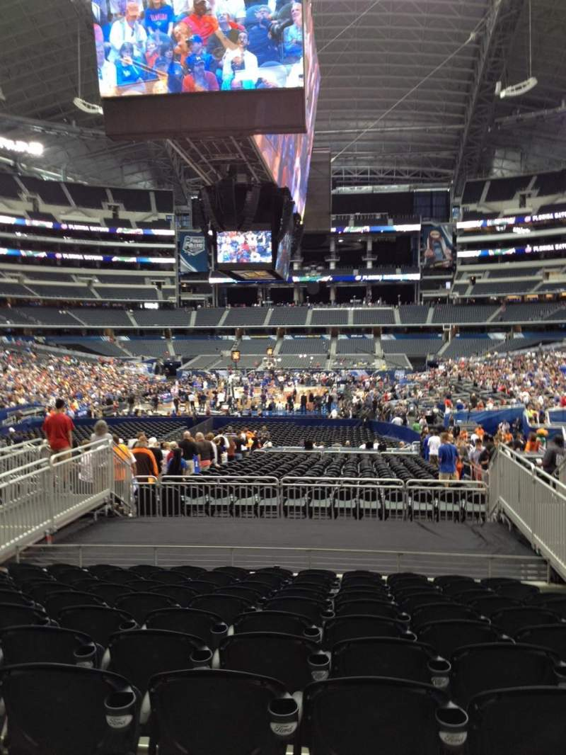 Seating view for AT&T Stadium Section 147 Row 18 Seat 9