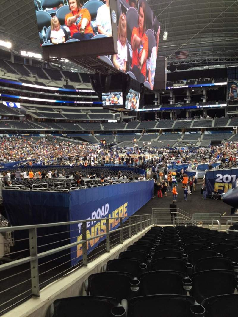 AT&T Stadium, section: 146, row: 19, seat: 7